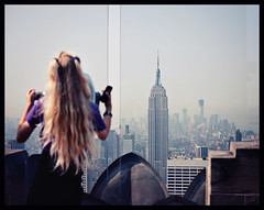 At the Top of the Rock (anita gt) Tags: nyc building photography photographer guatemala rockefellercenter empirestate fotografia fotografa weddingphotographer creativephotographer