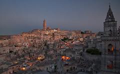 rosso di Matera buon tempo si spera (invitojazz) Tags: sunset italy night lights nikon italia tramonto basilicata luci matera sera d90 invitojazz vitopaladini