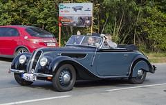 BMW 327 (1938) (The Adventurous Eye) Tags: classic car race climb do hill 1938 brno bmw rallye cabriolet 327 závod soběšice vrchu brnosoběšice