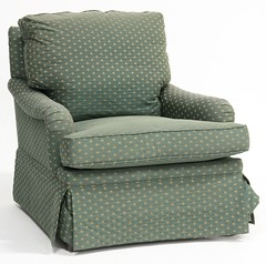 3. Upholstered Club Chair