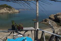 Breakfast Stop (juliaclairejackson) Tags: aegean greece skiathos mandraki beachbar greekisland
