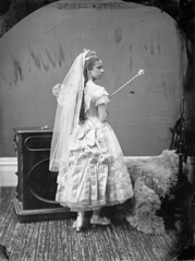 Miss Ritchie in costume / Mademoiselle Ritchie en costume (BiblioArchives / LibraryArchives) Tags: costumes ontario canada halloween ottawa lac bac librarya