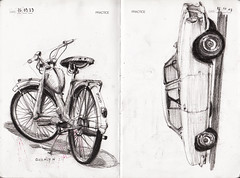 IDC practice page 8 (Flaf) Tags: auto car munich mnchen kohle drawing n charcoal bmw cs florian coal moped 3200 quickly nsu nymphenburg bertone neuhausen automobil kreuztal zeichenkohle mokick auffahrtsallee kleinkraftrad afflerbach