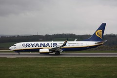 Photo of EI-DYY Boeing 737-8AS, Ryanair, Lulsgate 7 April 2012