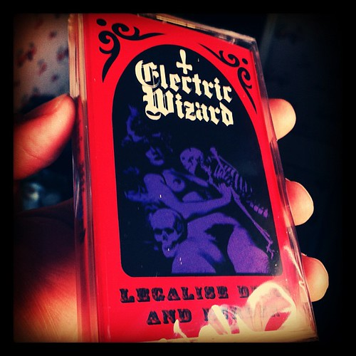 I bought #terrerizer to get the #electricwizard #tape