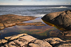 From Hesnesy, South of Norway (lasse christensen) Tags: sea norway norge rocks srlandet sj svaberg southnorway dsc7658