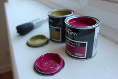 'Colours' [3 of 52] (CJ Isherwood) Tags: 3 colors project fun paint colours brush week crown cans weeks samples tins 3rd 52 sampe