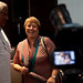 UN Women Executive Director Michelle Bachelet spoke to the media during a meeting with Bunker Roy, the founder of Barefoot College in Jaipur, India