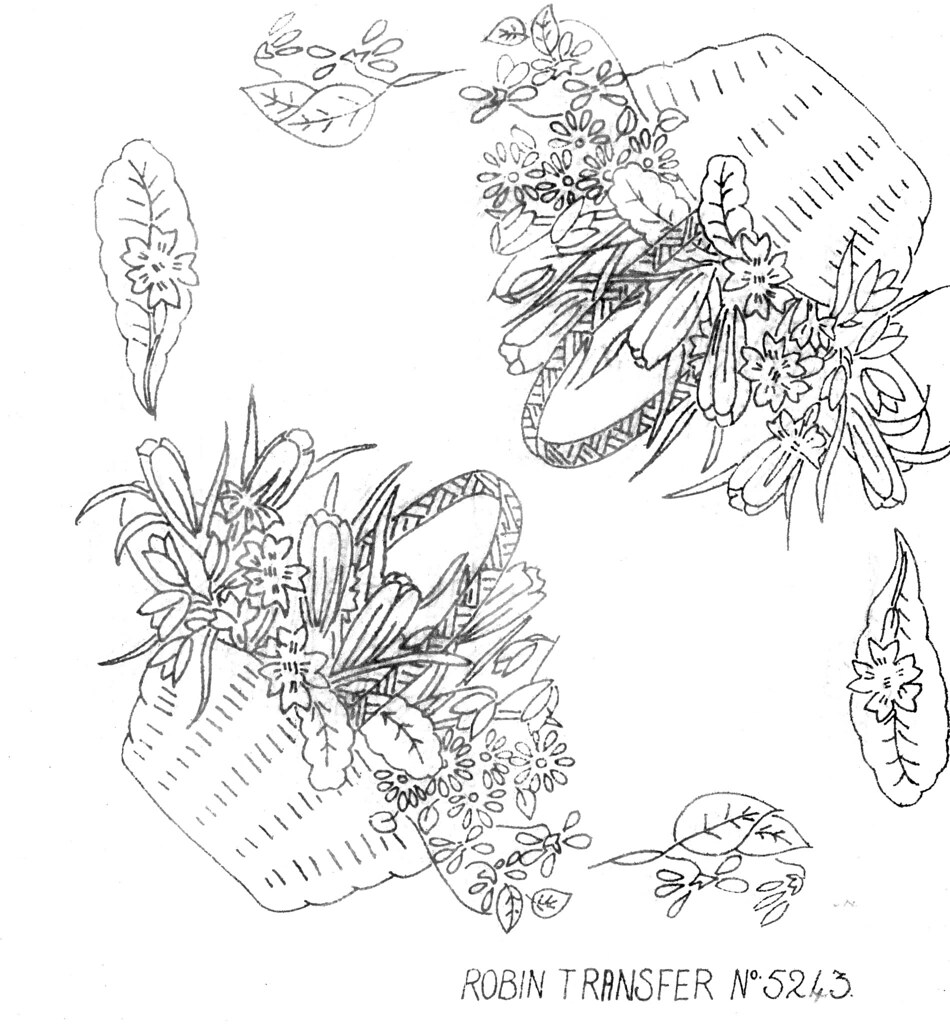 basket of flowers embroidery designs lingerie embroidery designs