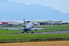 KC-10A Extender of USAF landing at Prestwick (EGPK) Scotland (Allan Durward) Tags: kc10a extender dc10 douglas mcdonnelldouglas pik egpk prestwick usaf glasgow scotland prestwickairport glasgowprestwick prestwickscotland kc10aextender 830081