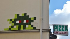 Invader_6683 Paris 15 (meuh1246) Tags: streetart paris spaceinvaders invader mosaque paris15 impassemathieu