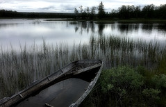 Mountain tranquiity in Valdres Norway (Photo iphone6plus) (JRJ.) Tags: norway norge tranquility valdres boat lake mood visitnorway