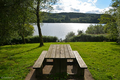 Llwyn-on Reservoir (Coastal Co) Tags: llwynonreservoir brecon powys 2016 water bench table a470 uk unlimitedphotos