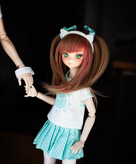Imouto (marlequeen) Tags: out base volks mdd dollfie dream marlequeen bjd animetic eyes resin