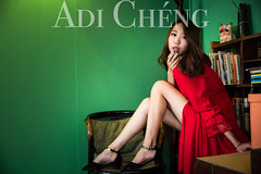 Adi_0036 (Adi Chng) Tags: adichng girl      redgreen