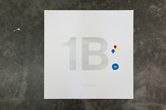 1B (scottboms) Tags: prints silkscreen posters speedball arl analogresearchlab projects messenger silver 1billion celebration balloons designerinresidence