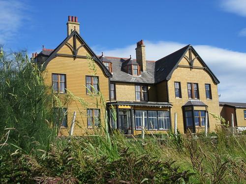 St Magnus Bay Hotel, Hillswick, Shetland, 22 July 2016