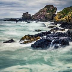 St Abb's (catkin314) Tags: scotland sea water waves rocks coast clouds movement colour stabbs