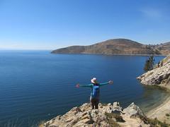 "Lac Titicaca: l'Isla del Sol <a style=""margin-left:10px; font-size:0.8em;"" href=""http://www.flickr.com/photos/127723101@N04/28596612285/"" target=""_blank"">@flickr</a>"