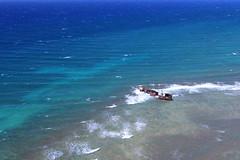 shipwreck 2 (pdx.rollingthunder) Tags: maui hawaii aerial aerialphotography aviation lanai