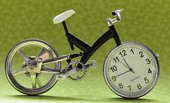 Time Trials Bike (Joan's Pics 2012) Tags: macromonday summerolympicsport timetrials bike clcok ornamental miniature