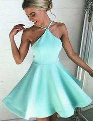 Homecoming Dress (provencelavender) Tags: fashion spaghetti straps aline mint short homecoming dress