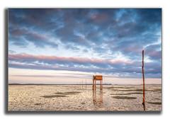Sunset over Holy Island. (DeanMatthewsPhotography) Tags: sunset northumberland leefilters canon canon6d deanmatthewsphotography clouds manfrotto filters water coast coastline longexposure nature