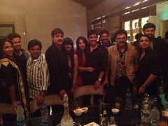 Actress Sanjjanaa with Telugu Industry Stars (2)