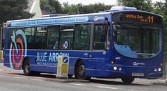 Gateshead (Andrew Stopford) Tags: nk53unz scania l94ub wright solar gonortheast goaheadgroup gateshead bluearrow