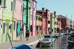 Walking along a rainbow (__Thomas Tassy__) Tags: burano isola ile venezia venice venise