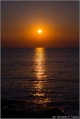sunset2.puntasuina@salento.it (Rinaldofr) Tags: canon6d salento estate summer italia puglia puntasuina nature sunset reflexes sun sky orange sea