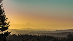 Pastel Morning (blk.rnsngh) Tags: red sony valley morning mountain clouds spectrum sunrise landscapes outdoor oregon hillsboro mthood mirrorless 90mm sel90m28g a7ii post pastel