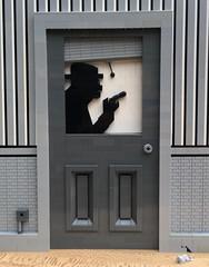 MOC: Private Detective (eurotrash48903) Tags: filmnoir detectiveoffice detective wiseguy moc lego