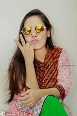 Indoor portrait .. (Jams Nabil) Tags: portrait girl girls canon 85mm bangladesh photography photographers photolovers worldwide female shoot flickr explore