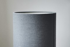 (jean_pichot1) Tags: fold seams blue gray light rim focus shadow edge too circular texture fabric lampshade himla lamp