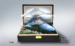 Atelier2 - Caixa de joia (Carlos Atelier2) Tags: atelier2 caixa joias montanha gelo ao ar livre lago verde azul paz vida