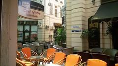 Cafe Bistro Vilacrosse (nicolae_andrei_popa) Tags: bucharest lipscani centrul vechi pasajul vilacrosse lunch drink summer