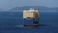MORNING CATHERINE (LeHavreShips) Tags: eukor aft stern poupe roro rollonrolloff carcarrier roulier
