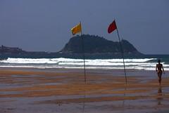 REScue. (Warmoezenier) Tags: basque beach playa wandelaar zarautz