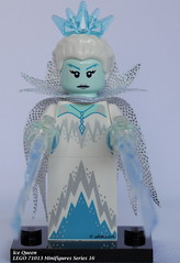 LEGO 71013 Minifigures Series 16-01 Ice Queen (KatanaZ) Tags: lego71013 collectibleminifiguresseries16 icequeen desertwarrior cyborg cutelittledevil spookyboy hiker wildlifephotographer kickboxer scallywagpirate penguinboy rogue dogshowwinner mariachi spy bananaguy babysitter lego minifigures minifigs
