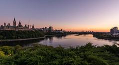 Nepean Point : September 19, 2016 (jpeltzer) Tags: ottawa night sunset nepeanpoint ottawariver parliament parliamenthill