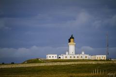 Noss head lighthouse (RVBO) Tags: scotland ecosse highlands lighthouse phare ciel