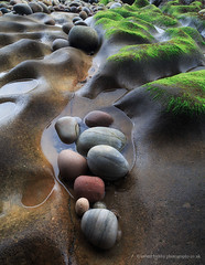 Rock Pool II (calderdalefoto) Tags: moray pebbles rocks scotland nature pool rock coast scottish uk
