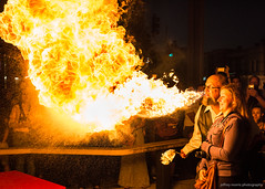 Breathing Fire (jeffrey morris photography) Tags: usa dc event artallnight2016 night availablelight fire carnival sideshow firebreathing outdoor