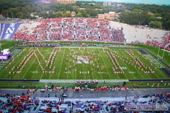 We Love Your Ns, @UNLbands! (NUbands) Tags: b1gcats chicago evanston huskermarchingband illinois numb northwestern northwesternuniversity northwesternuniversitywildcatmarchingband band marchingband music students