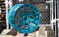 "VMR Wheels | Candy Teal V710 19x11"" (VMR Wheels) Tags: white vw mercedes nissan candy teal bmw pontiac audi 19 v710 710 concave vmr infiniti powdercoating pearlwhite powdercoat pearlescentwhite velocitymotoring 19x11 vmrwheels candyteal tiffanyteal"