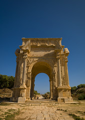 Leptis Magna Arch of Septimus Severus, Libya (Eric Lafforgue) Tags: africa old color colour history archaeology vertical stone architecture outdoors photography ancient day arch roman northafrica nobody nopeople unescoworldheritagesite classical libya ancientcivilization thepast leptismagna romanruins libia libye traveldestinations colorimage famousplace neapolis libyen buildingexterior lepcismagna nationallandmark colorpicture placeofinterest oldruin lbia internationallandmark italiancolony libi libiya tripolitania romanperiod  ribia liviya builtstructure libija colourpicture  lebdah      lbija  lby  libja lbya liiba livi  a0012383