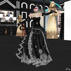 IMA - Sydney Fashion Week Ezura  035 (Photography by Ana) Tags: events models sl secondlife styles ima styling fashionweek sydneyaustralia fashionshows runwayshows ezura modelingshows