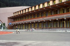 kodachrome | guyer gigon (Jrn Schiemann) Tags: architecture switzerland davos ch sportscentre gigon guyer