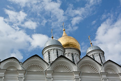 In Kremlin (dorochina) Tags: red church square gold cross russia moscow center cupola orthodox kremlin